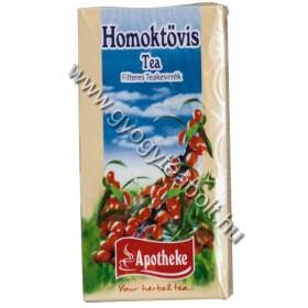 homoktovis tea